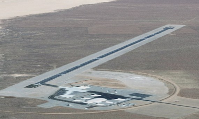 An aerial view of Area 6 in Nevada. (Google Earth)