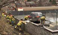 Vehicle Crash-Lands on Roof of Pittsburgh Supermarket