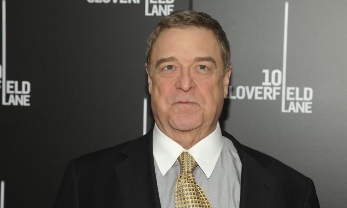 "John Goodman attends the premiere of ""10 Cloverfield Lane"" at AMC Loews Lincoln Square on Tuesday, March 8, 2016, in New York. (Photo by Andy Kropa/Invision/AP)"
