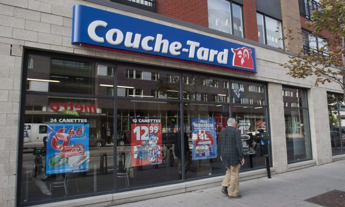 Quebec-based Couche-Tard has big expansion plans for Ontario with its deal to buy Esso retail stations. (The Canadian Press/Graham Hughes)