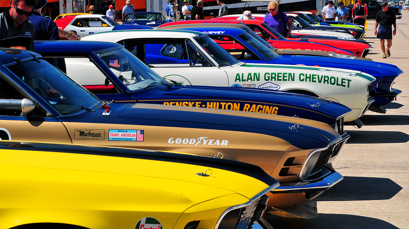 Trans Am Celebrates 50th Anniversary With Sebring Spring Vintage
