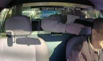 Reading, Pennsylvania: Video Shows Man Attempting to Rob Cab Driver With Police Car Behind Him