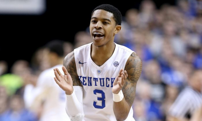Tyler Ulis of the Kentucky Wildcats averages 16.8 points and 7.2 assists per game. (Andy Lyons/Getty Images)