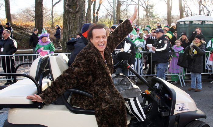 Richard Simmons attends the 87th Annual Macy's Thanksgiving Day Parade on November 28, 2013 in New York City.  (Photo by Laura Cavanaugh/Getty Images)