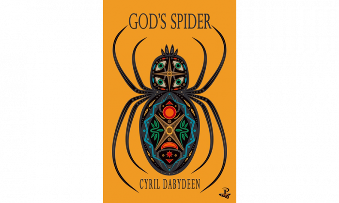 "Book cover of ""God's Spider"" by Cyril Dabydeen. (Peepal Tree Press)"