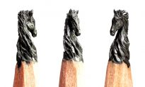 Artist Chisels Pencil Tips Into Stunning Sculptures