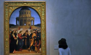 Raphael, Perugino Masterpieces Side-by-Side for First Time