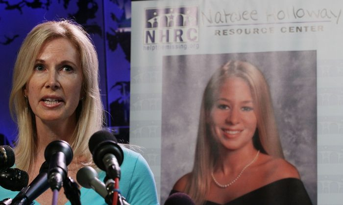Beth Holloway participates in the launch of the Natalee Holloway Resource Center on June 8, 2010 in Washington, D.C. (Mark Wilson/Getty Images)