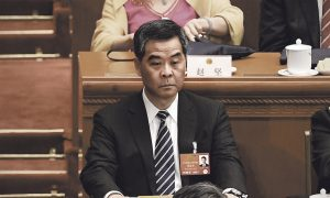 Hong Kong Chief Executive Loses Favour in Beijing