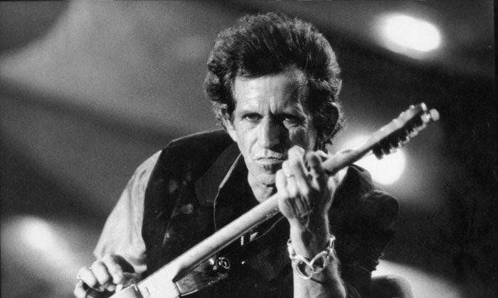 Rolling Stones guitarist Keith Richards.