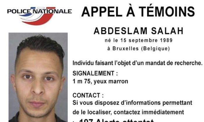 Salah Abdeslam. (Police Nationale via AP)