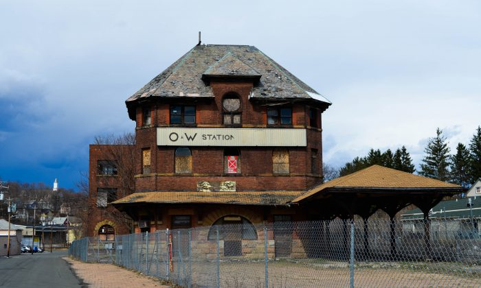 O&R railway station in Middletown on March 17, 2016. (Yvonne Marcotte/Epoch Times)
