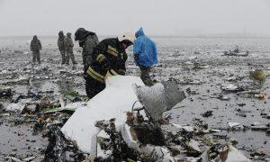 Heavy Winds as Dubai Plane Crashes in Russia, Killing 62