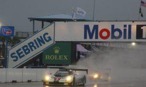 Sebring Twelve Hours Red Flagged for Rain