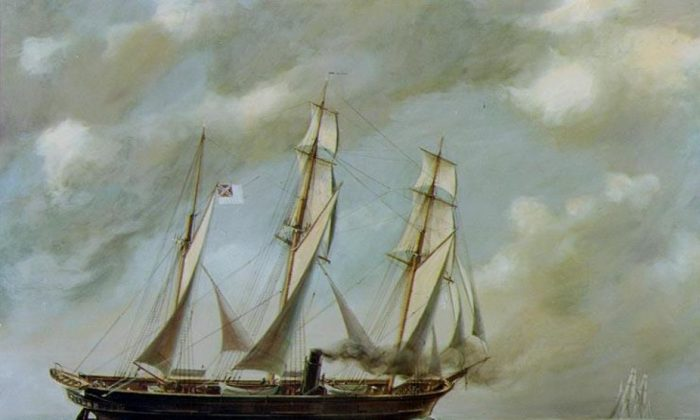 The dreaded CSS Alabama. (McMullen via Wikimedia Commons)