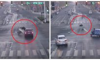 In China, People Turn a Blind Eye to a Hit-and-Run Victim in the Middle of the Road