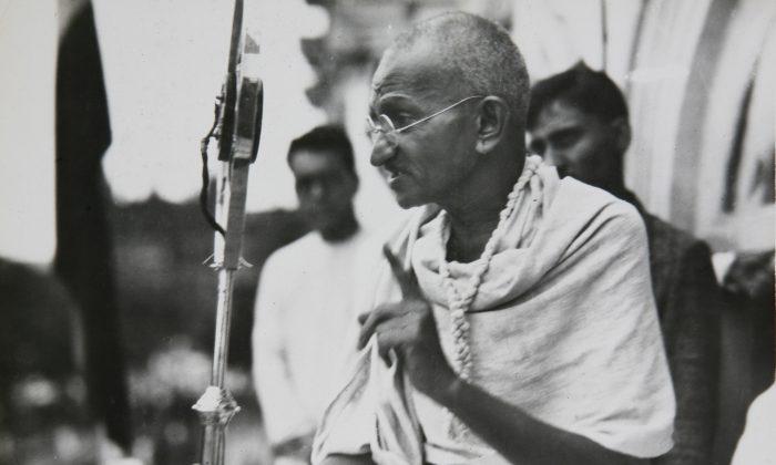 Mahatma Gandhi ca. 1931. (AP Photo/James A. Mills)