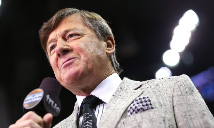 NBA and NCAA sideline reporter Craig Sager's cancer died of Acute Myeloid Leukemia (Ronald Martinez/Getty Images)