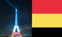 Photos: Eiffel Tower Lit up With Colors of Belgium Flag Following Terrorist Attack
