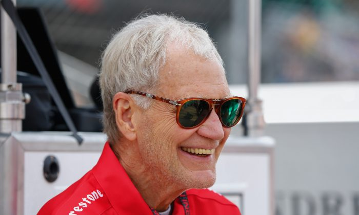 David Letterman attends the Indy 500 on May 23, 2015 in Indianapolis, Indiana. (Michael Hickey/Getty Images)