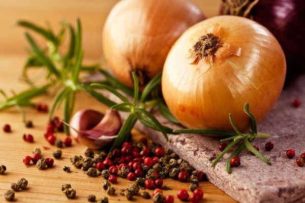 Onion as herb