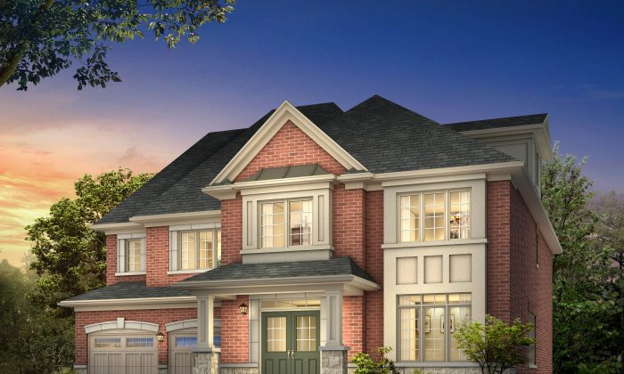 Rendering of a Copper Hills home (Courtesy Preston Group)