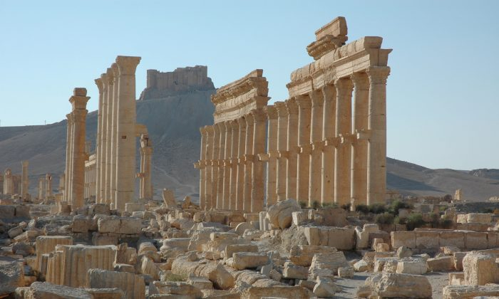 The site of the ancient city of Palmyra in Syria. (Ron Van Oers, UNESCO via AP)