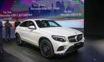 New Mercedes GLC Coupé Debuts in New York