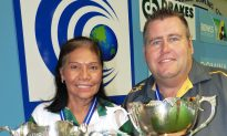 Carmen Anderson and Jeremy Henry Win Bowls World Cup Singles