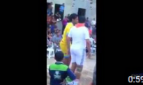 Video Shows Moment Suicide Bomber Blows Himself Up During Soccer Game in Iraq