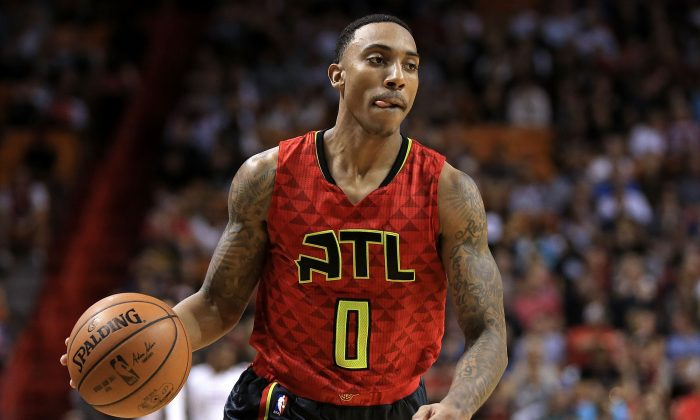 Atlanta Hawks point guard Jeff Teague is a former All-Star. (Mike Ehrmann/Getty Images)