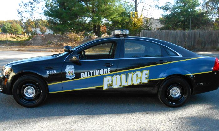 Baltimore Police Department Chevrolet Caprice PPV on Oct. 24, 2014. (GoBlue85/CC BY-SA 4.0)