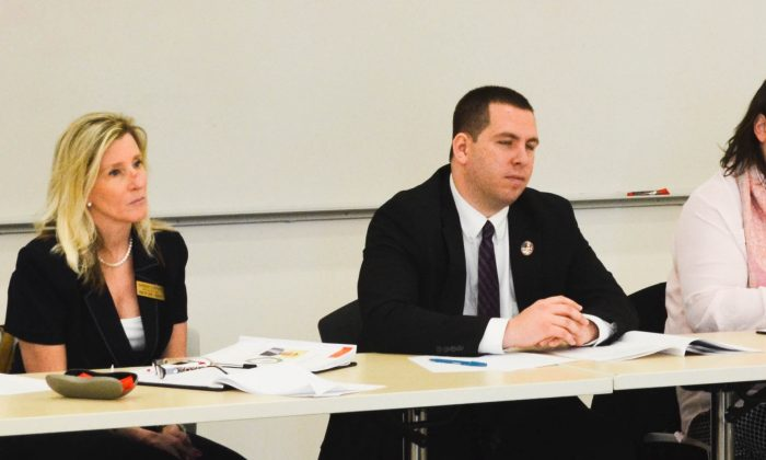 Orange County department heads present priorities to local representatives of state legislature in Goshen on March 24, 2016. (Yvonne Marcotte/Epoch Times)