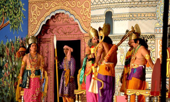 Ramlila, performed in New Delhi in Oct. 2012. (Anket Gupta)