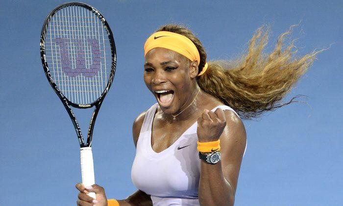 Serena Williams has dominated women's tennis of late, winning three Grand Slams in 2015. (Bradley Kanaris/Getty Images)