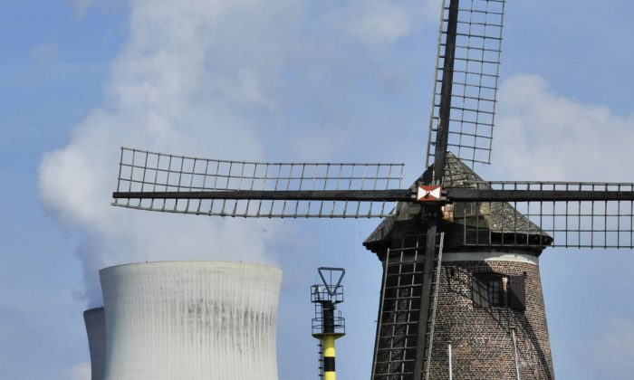 The nuclear power plant in Doel, Belgium, on Aug. 9, 2012. (Georges Gobet/AFP/Getty Images)
