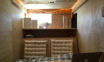 Man Moves to San Francisco, Pays $400 Per Month to Live in Plywood Box