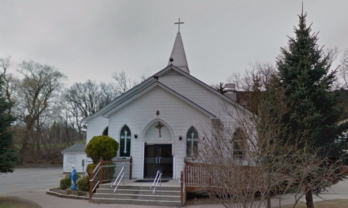 St. Joseph Chaldean Church. London, Ontario in Canada. (Google Maps)