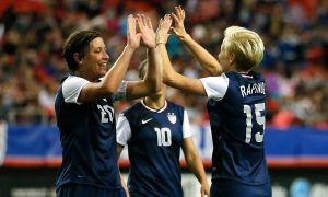 Soccer Stars Abby Wambach and Megan Rapinoe Plan to Donate Their Brains to Concussion Research