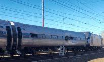 Amtrak Train Crashes Near Philadelphia, Lead Engine Derails