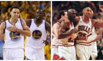 Scottie Pippen: Former Bulls Star Says '95–'96 Chicago Team Would Sweep Current Golden State Squad