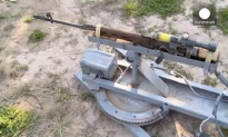 WATCH: Kurdish Forces Recover ISIS Remote-Controlled Machine Gun