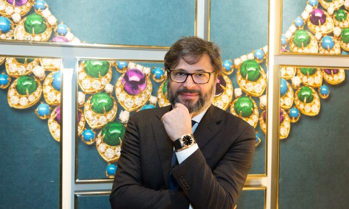 Guido Terreni, Bulgari Watches Managing Director.  Foto: Matthias Kehrein