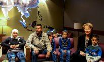 First Syrian Family From Surge Resettlement Program Arrive in Kansas City