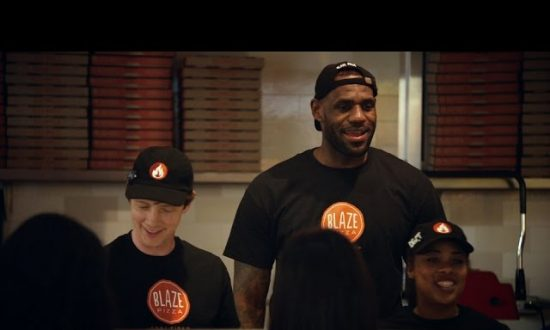 Video: LeBron James Has an Alter Ego That Makes Pizza