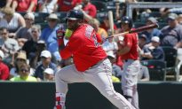 Pablo Sandoval: Red Sox Infielder's Belt Opens While Fouling Off Pitch