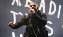 Rapper Drake Takes a Page out of Kanye West's Book