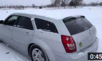 Car Sound System Blows Off Snow, Sparks Hearing Loss Debate