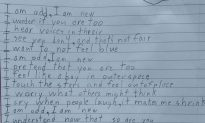 10-Year-Old Boy Writes Touching Poem About Being Autistic