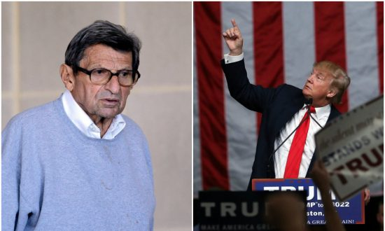 Donald Trump Causes Confusion With Question About Joe Paterno